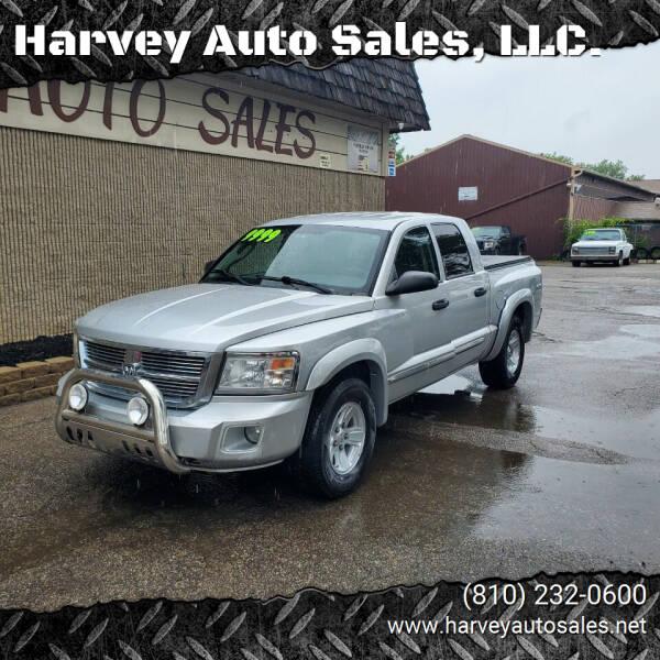 2008 Dodge Dakota for sale at Harvey Auto Sales, LLC. in Flint MI
