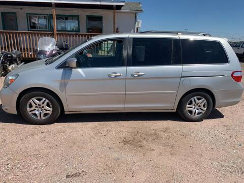 2005 Honda Odyssey for sale at PYRAMID MOTORS - Fountain Lot in Fountain CO