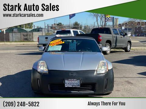 2004 Nissan 350Z for sale at Stark Auto Sales in Modesto CA
