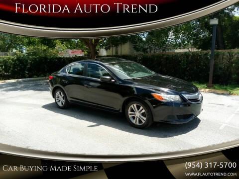 2013 Acura ILX for sale at Florida Auto Trend in Plantation FL
