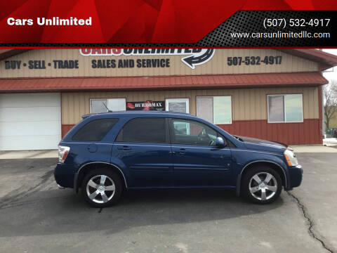 2008 Chevrolet Equinox for sale at Cars Unlimited in Marshall MN