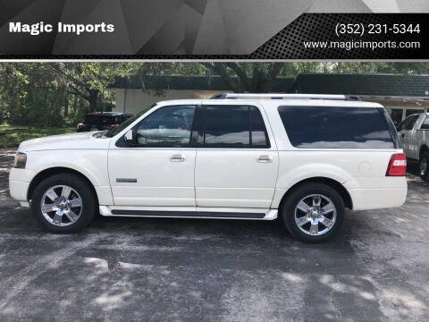 2008 Ford Expedition EL for sale at Magic Imports in Melrose FL