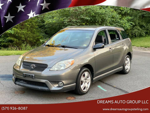 2005 Toyota Matrix for sale at Dreams Auto Group LLC in Sterling VA