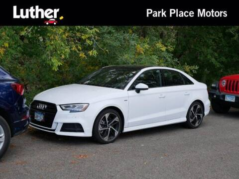 2020 Audi A3 for sale at Park Place Motor Cars in Rochester MN