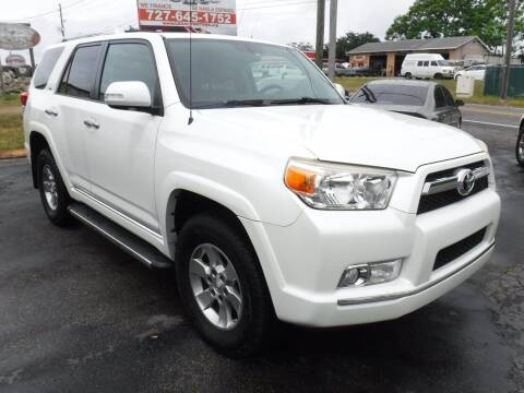 2012 Toyota 4Runner for sale at LEGACY MOTORS INC in New Port Richey FL