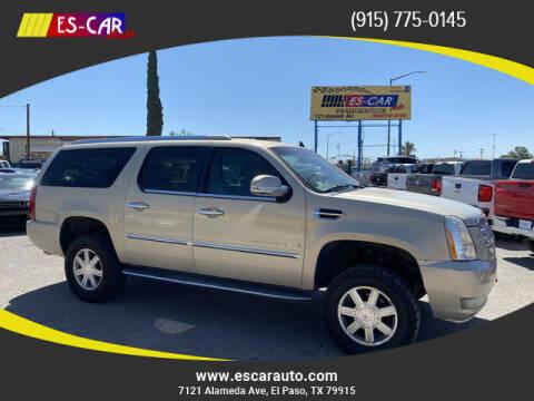 2007 Cadillac Escalade ESV for sale at Escar Auto in El Paso TX