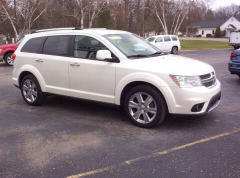 2012 Dodge Journey for sale at LAKESIDE MOTORS LLC in Houghton Lake MI