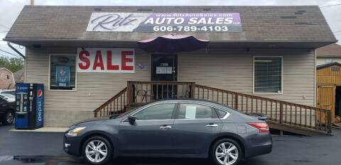 2013 Nissan Altima for sale at Ritz Auto Sales, LLC in Paintsville KY