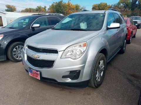 2011 Chevrolet Equinox for sale at L & J Motors in Mandan ND