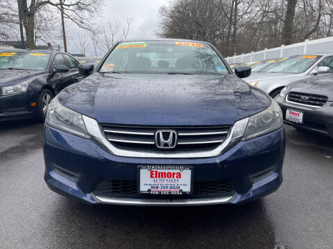 2015 Honda Accord for sale at Elmora Auto Sales in Elizabeth NJ