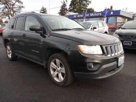2012 Jeep Compass for sale at All American Motors in Tacoma WA