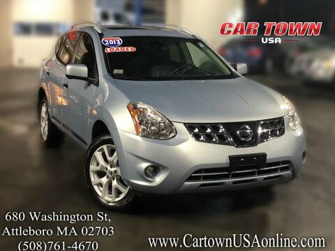 2013 Nissan Rogue for sale at Car Town USA in Attleboro MA