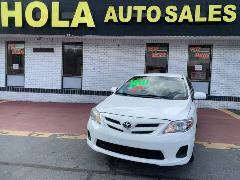 2012 Toyota Corolla for sale at HOLA AUTO SALES CHAMBLEE- BUY HERE PAY HERE - in Atlanta GA