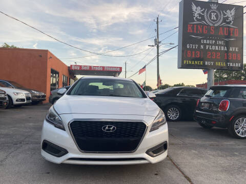 2016 Hyundai Sonata Hybrid for sale at Kings Auto Group in Tampa FL