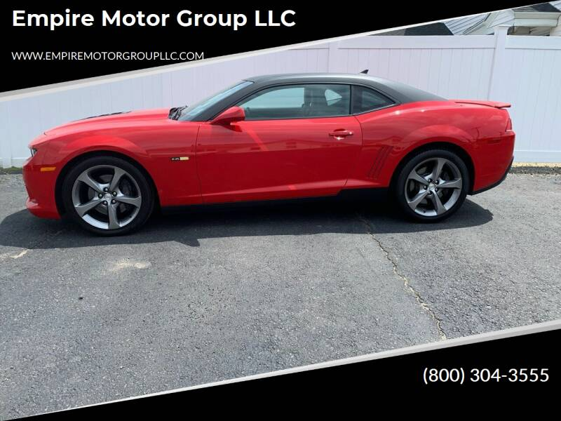 2014 Chevrolet Camaro for sale at Empire Motor Group LLC in Plaistow NH
