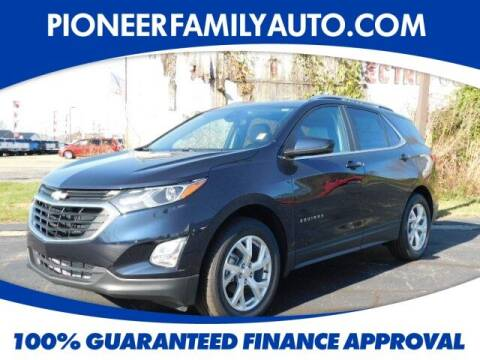 2021 Chevrolet Equinox for sale at Pioneer Family auto in Marietta OH