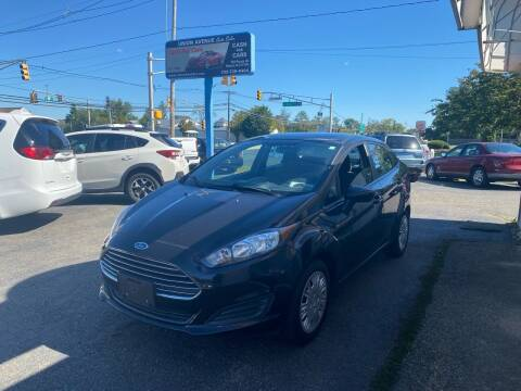 2014 Ford Fiesta for sale at Union Avenue Auto Sales in Hazlet NJ