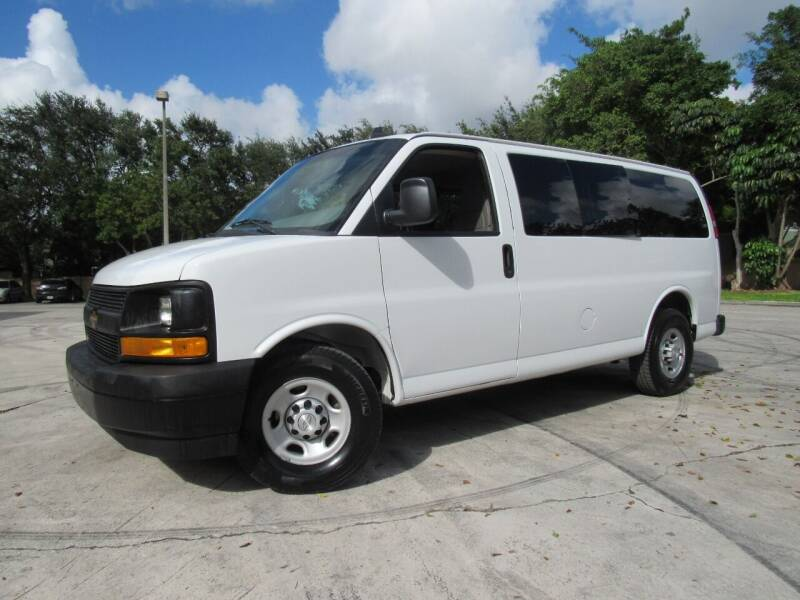 2017 Chevrolet Express Passenger for sale at Easy Deal Auto Brokers in Hollywood FL