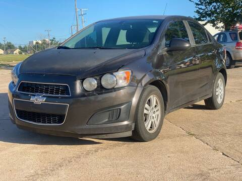 2015 Chevrolet Sonic for sale at Auto Start in Oklahoma City OK