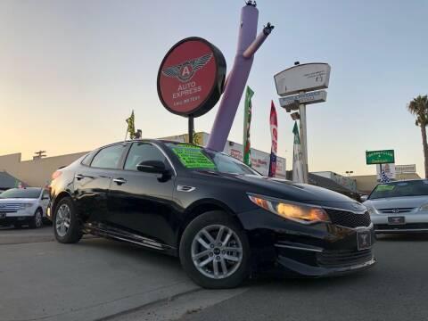 2017 Kia Optima for sale at Auto Express in Chula Vista CA