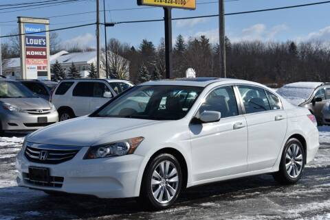 2011 Honda Accord for sale at Broadway Garage of Columbia County Inc. in Hudson NY