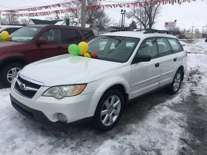 2008 Subaru Outback for sale at Antique Motors in Plymouth IN
