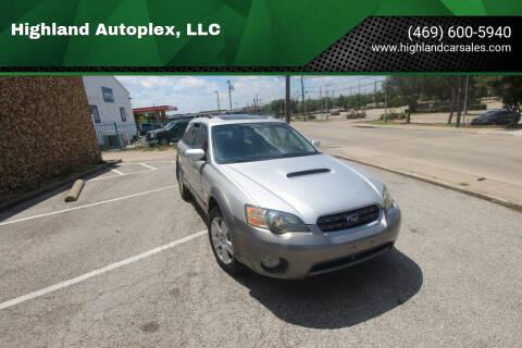2005 Subaru Outback for sale at Highland Autoplex, LLC in Dallas TX