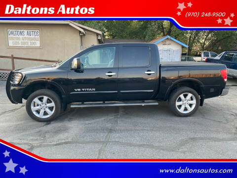 2009 Nissan Titan for sale at Daltons Autos in Grand Junction CO