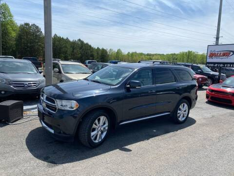 2012 Dodge Durango for sale at Billy Ballew Motorsports in Dawsonville GA