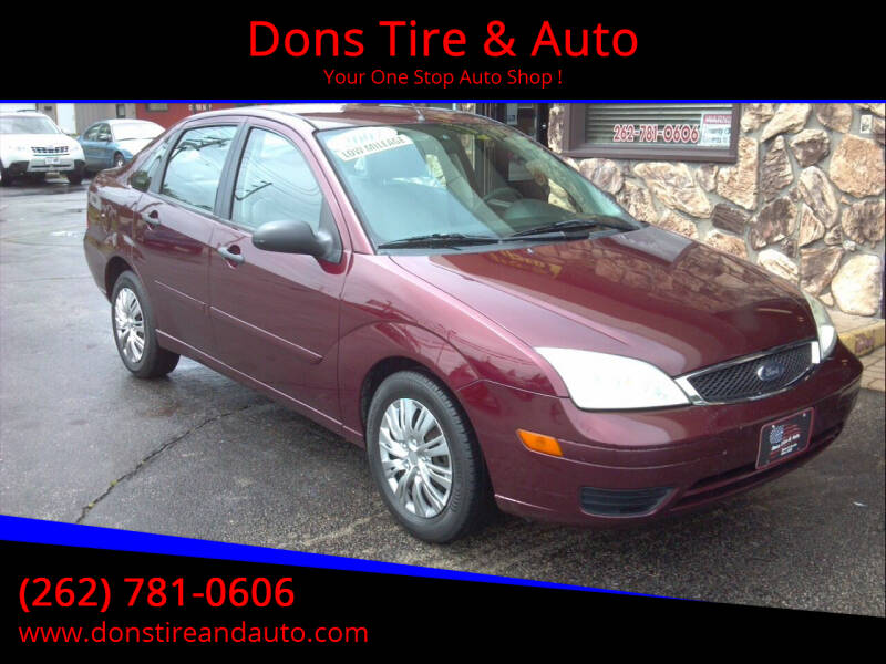 2007 Ford Focus for sale at Dons Tire & Auto in Butler WI