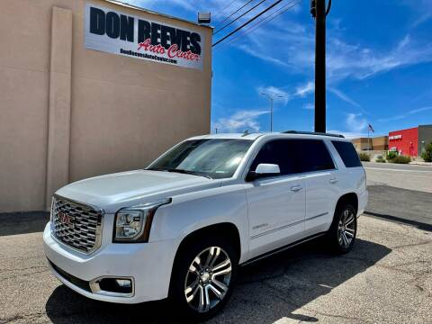 2018 GMC Yukon for sale at Don Reeves Auto Center in Farmington NM