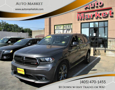 2015 Dodge Durango for sale at Auto Market in Oklahoma City OK