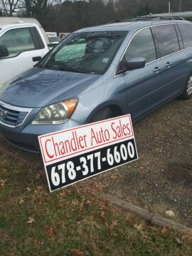 2010 Honda Odyssey for sale at Chandler Auto Sales - ABC Rent A Car in Lawrenceville GA