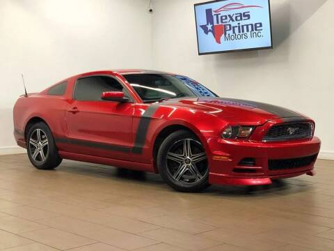 2013 Ford Mustang for sale at Texas Prime Motors in Houston TX