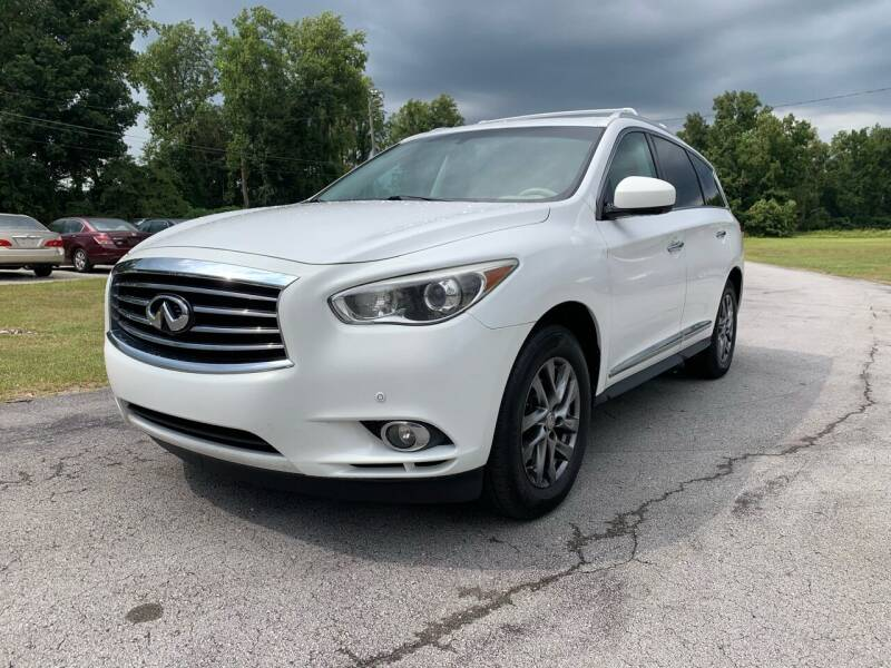 2013 Infiniti JX35 for sale at IH Auto Sales in Jacksonville NC