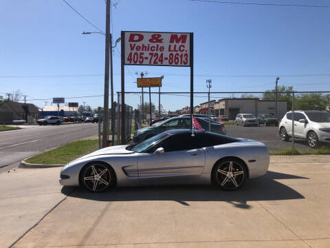 1997 Chevrolet Corvette for sale at D & M Vehicle LLC in Oklahoma City OK