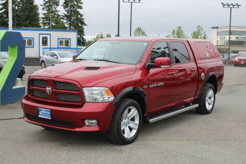 2012 RAM Ram Pickup 1500 for sale at BAYSIDE AUTO SALES in Everett WA