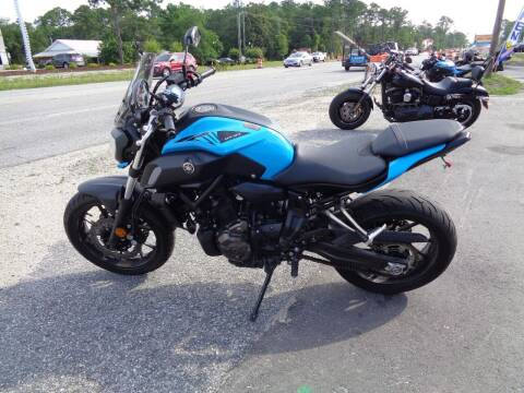 2019 Yamaha MT07 for sale at BALKCUM AUTO INC in Wilmington NC