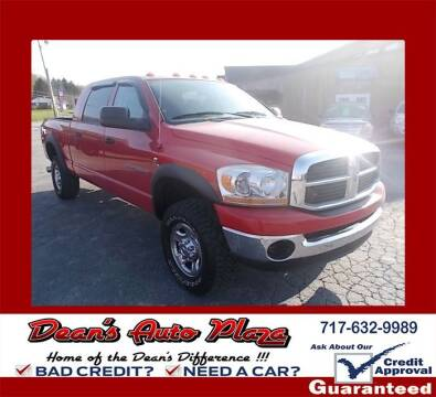 2006 Dodge Ram Pickup 2500 for sale at Dean's Auto Plaza in Hanover PA