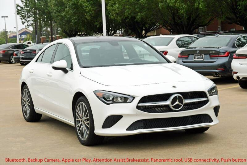 2020 Mercedes-Benz CLA for sale at Silver Star Motorcars in Dallas TX