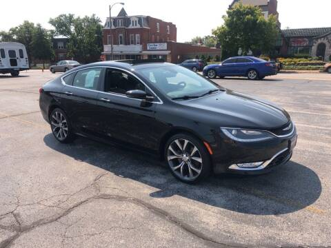 2015 Chrysler 200 for sale at DC Auto Sales Inc in Saint Louis MO