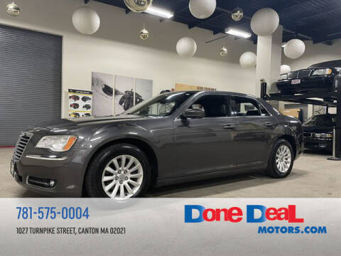 2013 Chrysler 300 for sale at DONE DEAL MOTORS in Canton MA