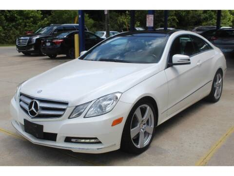 2013 Mercedes-Benz E-Class for sale at Inline Auto Sales in Fuquay Varina NC