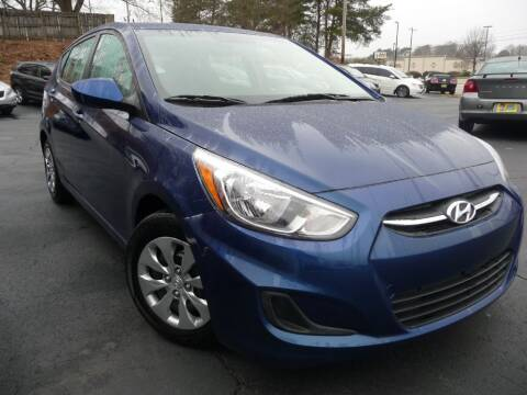 2017 Hyundai Accent for sale at Wade Hampton Auto Mart in Greer SC