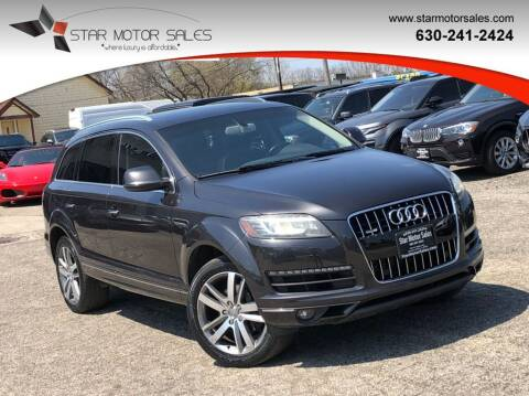 2012 Audi Q7 for sale at Star Motor Sales in Downers Grove IL