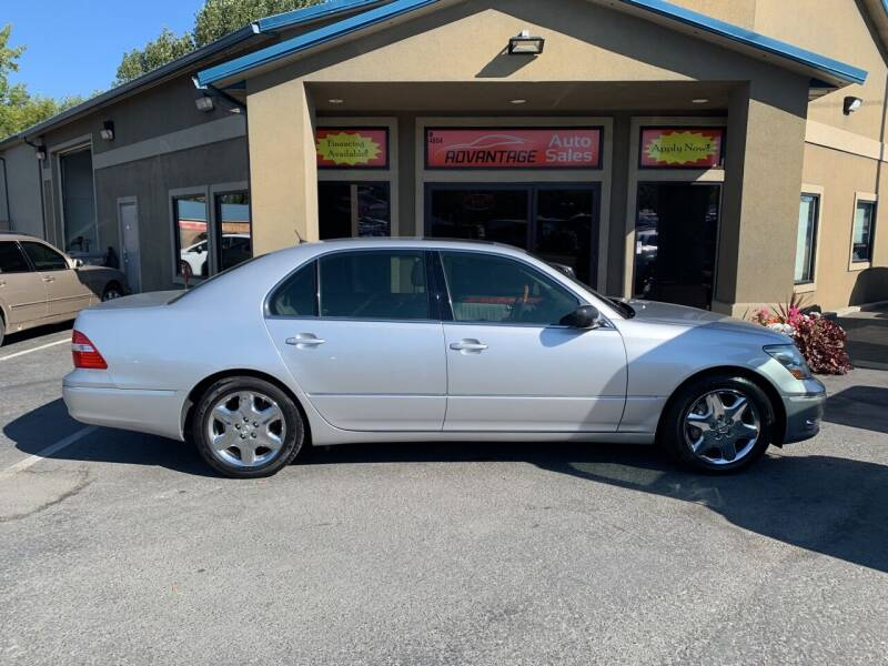 2004 Lexus LS 430 for sale at Advantage Auto Sales in Garden City ID