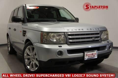2006 Land Rover Range Rover Sport for sale at STAPLETON MOTORS in Commerce City CO