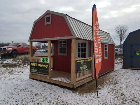 2018 PREMEIR 10'X20' LOFTED BARN CABIN for sale at Tri State Auto Center - Sheds in La Crescent MN