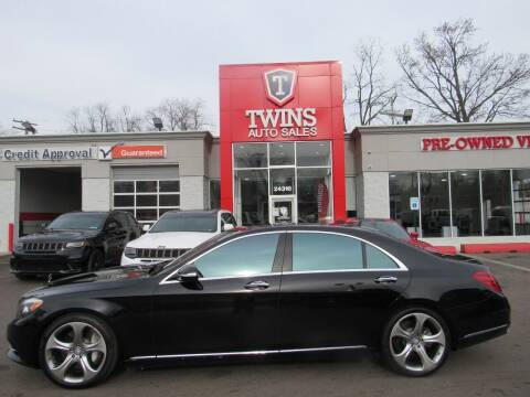 2017 Mercedes-Benz S-Class for sale at Twins Auto Sales Inc - Detroit in Detroit MI