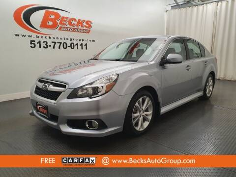 2013 Subaru Legacy for sale at Becks Auto Group in Mason OH